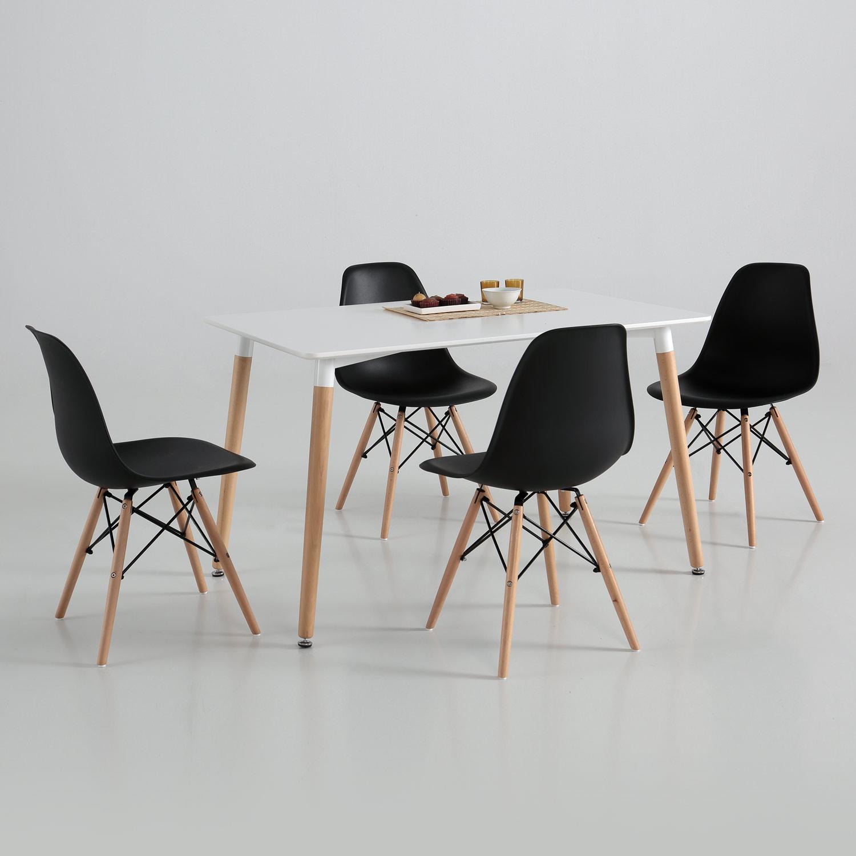 Mesa eco comedor blanca Muebles baratos online