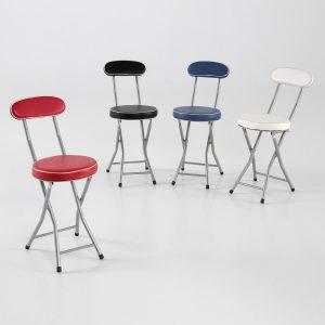 conjunto-sillas-taburete-acolchado