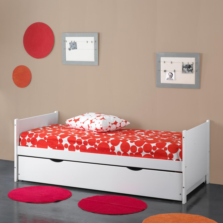 Cama nido color blanco muebles baratos online for Cama nido color madera