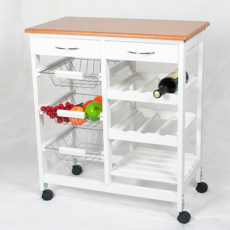 carro de cocina completo madera muebles baratos online