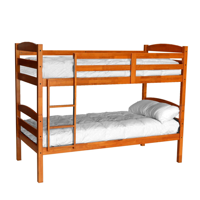Litera en pino macizo convertible en camas muebles - Cama convertible en litera ...