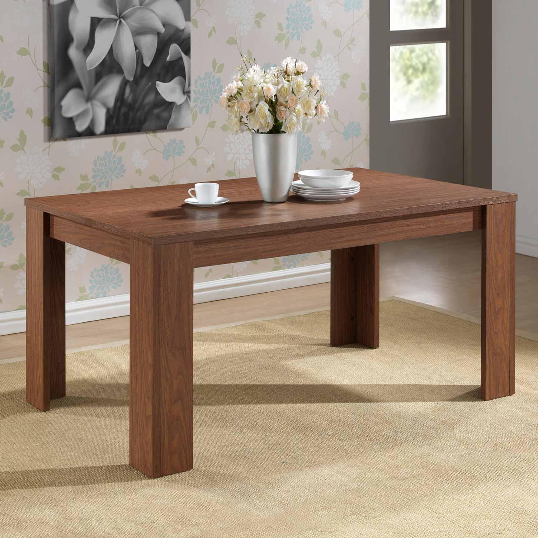 Mesa comedor Deysi Maple o Nogal | Muebles baratos online