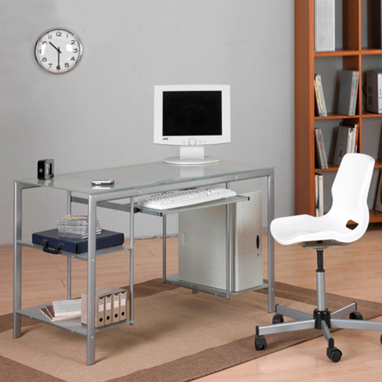 Mesa para estudio ordenador muebles baratos online - Mesas estudio cristal ...
