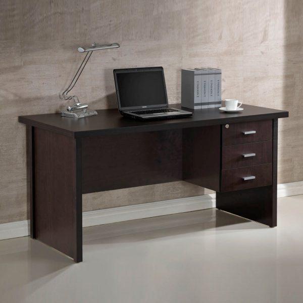 Mesa de despacho 3 cajones muebles baratos online - Mesas estudio juveniles ...