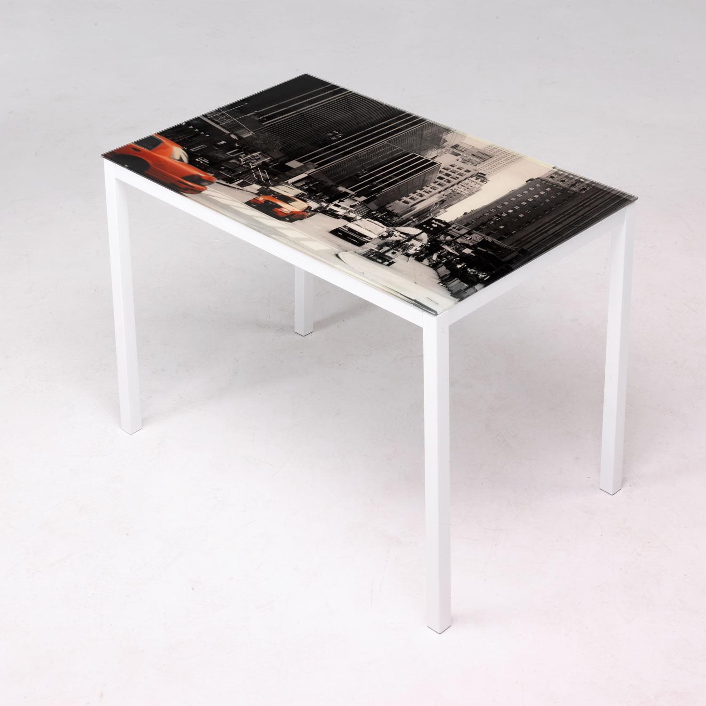 plegable mesas y sillas serigrafiada