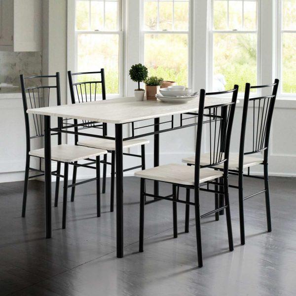 Conjunto oferta de mesa de cocina 4 sillas muebles - Oferta mesa cocina ...