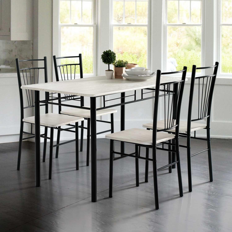 Conjunto oferta de mesa de cocina + 4 sillas