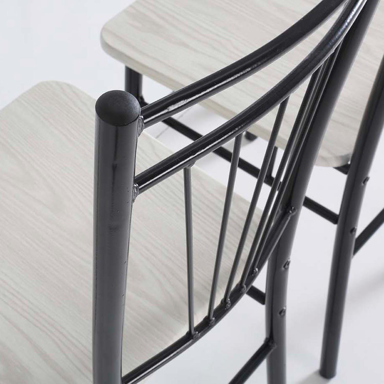 Conjunto oferta de mesa de cocina 4 sillas muebles for Muebles sillas oferta