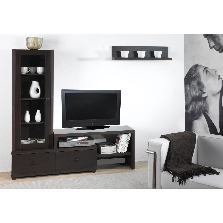 mueble sal n xira vitrina 2 cajones muebles baratos online