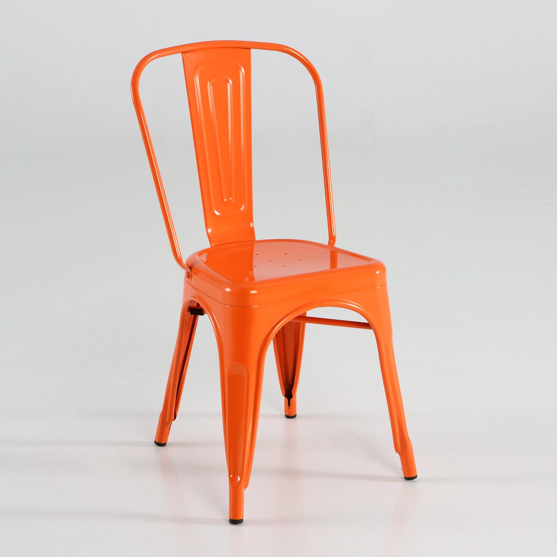 silla de metal varios colores muebles baratos online
