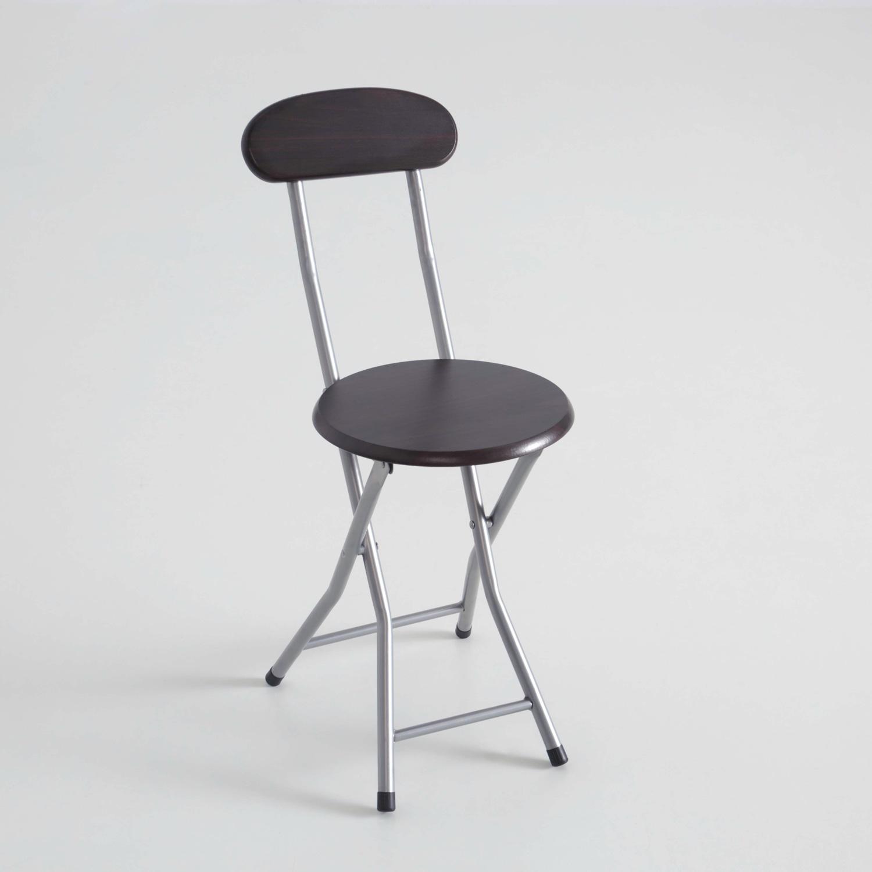 Silla taburete plegable asiento de madera muebles - Taburetes plegables cocina ...