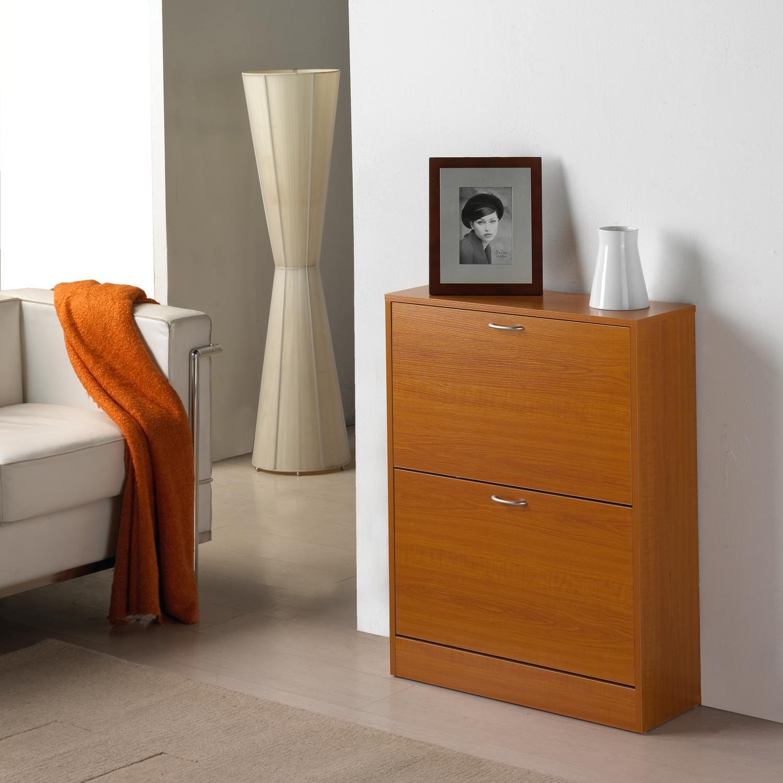 Zapatero 2 puertas muebles baratos online for Zapatero 1 puerta