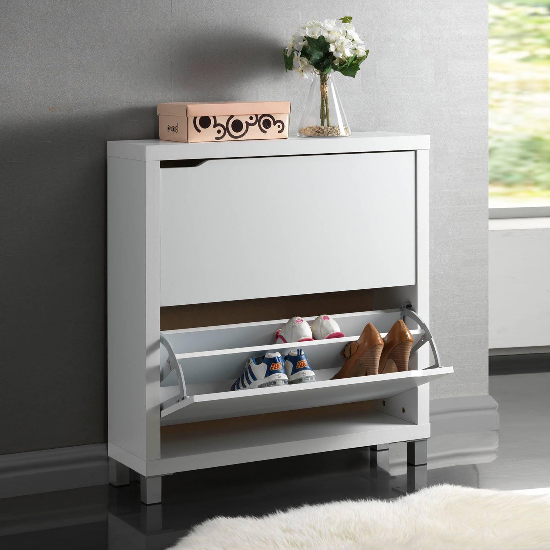 Zapatero 2 puertas con patas muebles baratos online for Zapatero 17 cm fondo