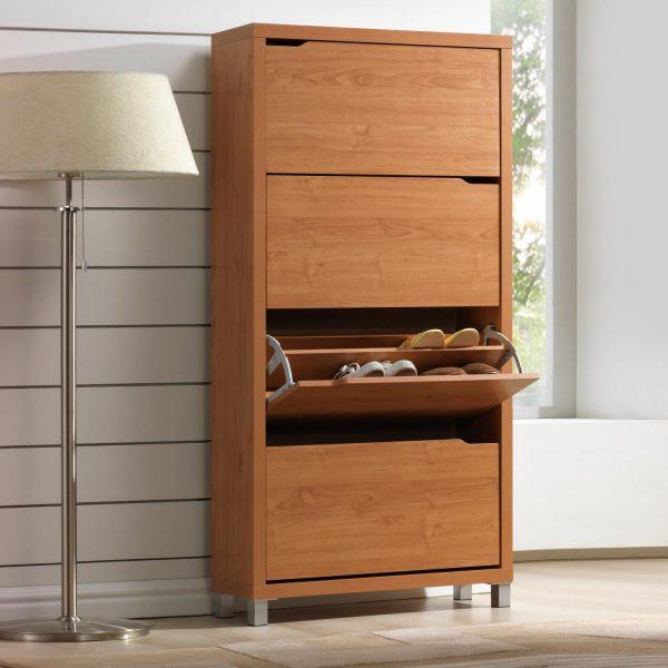 Zapatero 4 puertas muebles baratos online for Muebles para zapatos baratos