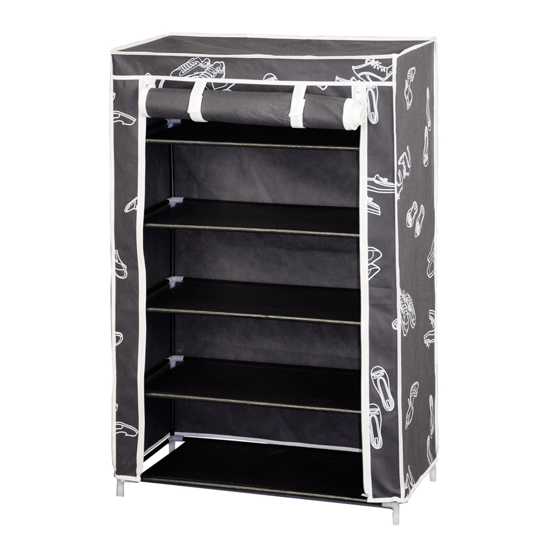 Zapatero armario de tela muebles baratos online for Armarios zapateros baratos
