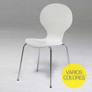 silla-curvada-en-blanco-o-negro