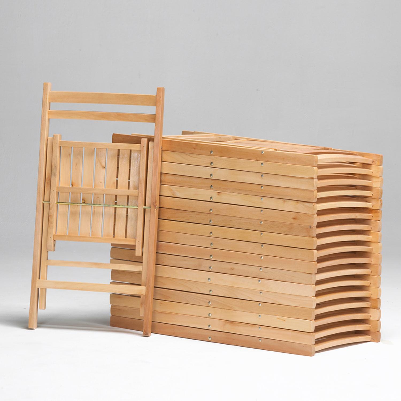 Silla plegable de madera muebles baratos online for Muebles sillas de madera